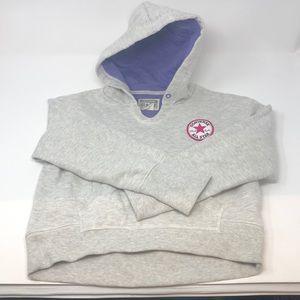 Converse All Star Girls Sweatshirt Hoodie